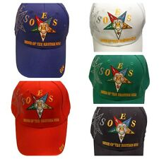 OES Order of the Eastern Star Hat Cap