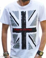 COOL UNION JACK BRITISH PUNK ROCK T SHIRT ALL SIZES  XS S M L XL XXL