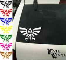 Zelda Triforce of Hyrule Decal Car Window Vinyl Nintendo Link Sticker ANY SIZE