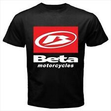 Beta Motorcycles Logo Black T-Shirt Size S to 3XL Brand New