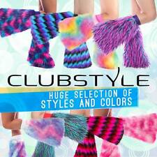 Monster Fluffies - High Quality 3 Tone Fluffies - Rave Fluffy Leg Warmers