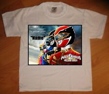 """Power Rangers Mega Force"" Personaliz​ed T-Shirt - NEW"