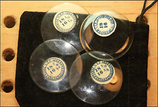 18 Ligne NOS Glass Pocket Watch Crystals Open Face Sizes Vintage NEW OLD STOCK