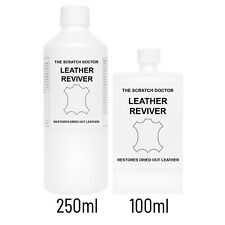 Leather Reviver. Used to soften hard, brittle and dried out leathers.