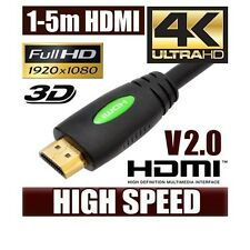 1m 2m 3m 5m Ultra Premium HDMI Cable V2.0 4K Ultra HD 3D HighSpeed with Ethernet