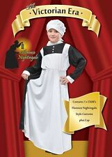 Victorian Florence Nightingale fancy dress BNIP 6-11yrs Nurse Costume Book Week