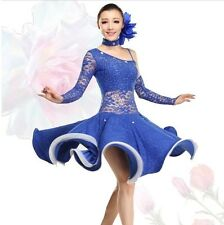 NEU Latino salsa Kleid TanzKleid LatinaKleid Latein Kleid Turnierkleid #HB170