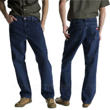 Mens Jeans Dickies Relaxed Fit 5-Pocket Jean Cotton Denim Pants 13293 Khaki Tint