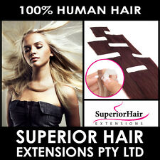 """18"""" and 22"""" Tape in/Skin weft 100%  Human Hair Extensions"""