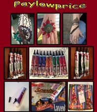 US SELLER MultiColor Henna Tubes/Mehendi/Henna Cone/Tattoo/Cones/Art