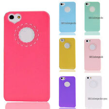 Ultra Thin Heart Flower Hard Plastic Back Case Cover Skin For iPhone 4 4G 4GS 4S