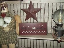 Primitive Decor Sign Country Handmade Rustic Wood Decor My Roost My Rules Sign