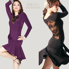 NEU Latino salsa Kleid TanzKleid LatinaKleid Latein Kleid Turnierkleid #S8058