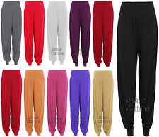 WOMENS LADIES ALI BABA LEGGINGS TROUSERS HAREM PANTS FULL LENGTH BAGGY PLUS SIZE
