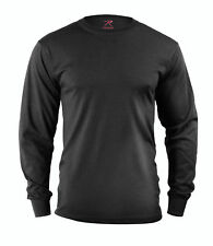 Rothco 60212 Black Tactical Long Sleeve Military T-Shirt