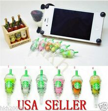 NEW Starbucks Frappuccino Anti-Dust Plug for Iphone,Samsung S4, HTC, All 3.5mm