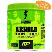NEW IRON CRE3 MUSCLEPHARM *ARNOLD SERIES* CREATINE ION-3 NITRATE 30 SERVINGS