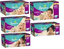 Pampers Cruisers diapers Size 3-7 U-pick size- FREE shipping & DISCOUNTS offered