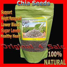 """Chia Seeds """"Only the Best"""" with ORAC antioxidant value of 98 (from $9.99 each)"""