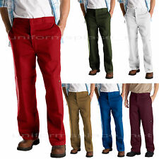 Mens Dickies Pants Loose Fit Double Knee with cell pocket work pant 85283 Colors