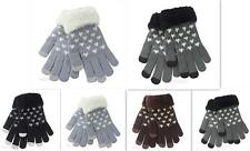 Winter Star Pattern Touch Screen Gloves Telefingers Gloves Keep Your Hands Warm