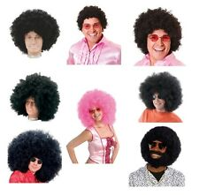 AFRO 1980s PARTY WIGS JIMMY HENDRIX ALL KINDS FANCY DRESS COSTUME ACCESSORY