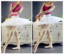 New Adult Professional Ballet Dance Tutu Hard Organdy Platter Skirt Dress 2color