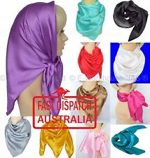 1 Square Scarf Chemo Headwear Head Cover Wrap hijab hijaab Silk Touch 85cm 33.5""