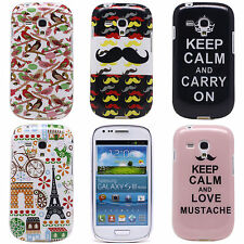 New Cartoon Cute Back TPU Soft Shell Case Cover for Samsung Galaxy S3 Mini i8190