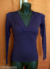 Maglia donna a V Guess by Marciano viola