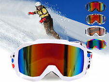 Dual Lens Anti Fog Optics Series Scope Snow Ski Goggles UV400 Winter Snowboard