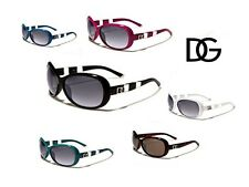 DG Womens Retro Celebrity Sunglasses Shades +Free Microfiber Bag DG 26936