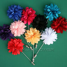 """KingKong FLOWER"" SAFETY Lapel Pin BOUTONNIERE for Wedding Party /SUL"