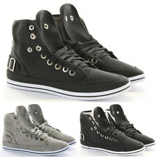 Womens Trainer Flat Lace up Ankle High Top Style Boots Shoes Size