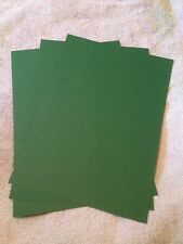 A4 240GSM CARD STOCK XMAS GREEN FREE POSTAGE (YOU CHOOSE AMOUNT)