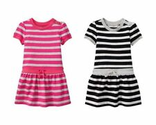 NWT Baby GAP Striped Drop-Waist Bow Dress for Girls NEW U-PICK color & size
