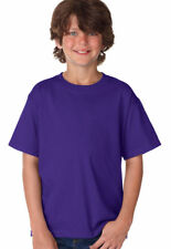 Fruit of the Loom Youth Short Sleeve 100% Cotton Front Neck T-Shirt. 3930B