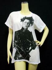 Johnny DEPP T-shirt, Edward Scissorhands MOVIE Star, White UNISEX Cotton S M & L