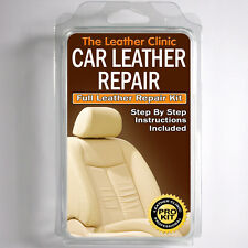 SEAT Leather Repair Kit for tears holes scuffs and colour dye damage