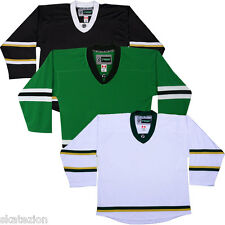 Dallas Stars NHL Replica Style Hockey Jersey & Sock COMBO!   NO LOGO DJ300