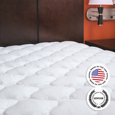 Extra Plush Mattress Pad - Topper with Fitted Skirt - Found in Marriott Hotels