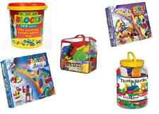 Thistle Blocks Construction Stickle Bricks Building Connecting Colorful Toy Game