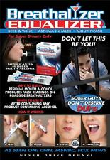Breathalyzer Equalizer Packages Reduces Mouth Alcohol and Readings DUI Gift