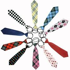 10 Styles School Boy Girl Kids Child Wedding Party Elastic Tie Necktie