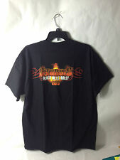 STURGIS 2013 OFFICIALLY LICENSED BLACK HILLS MOTOCYCLE RALLY RED FLAME T SHIRTS