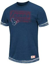 Houston Texans Majestic NFL Posted Victory Washed Burnout Premium T-Shirt