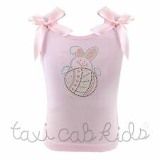 Pettitop Tank Top Easter Bunny Egg * Pictures Pageant Party * NWT * 1-10/12 Yr