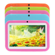"7"" Android 4.1 8GB Children Tablet PC Bluetooth HDMI Dual Camera WIFI 3G 4Colors"