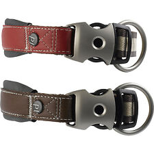 Luxury Signature Pet Face Country Dog Puppy Collar Adjustable Neoprene Padded