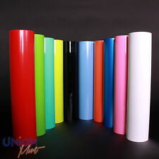 GLOSS VINYL WRAP STICKER BUBBLE AIR FREE ALL COLOURS BLACK RED BLUE WHITE PINK